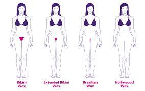 Ceretta zona bikini cera calda