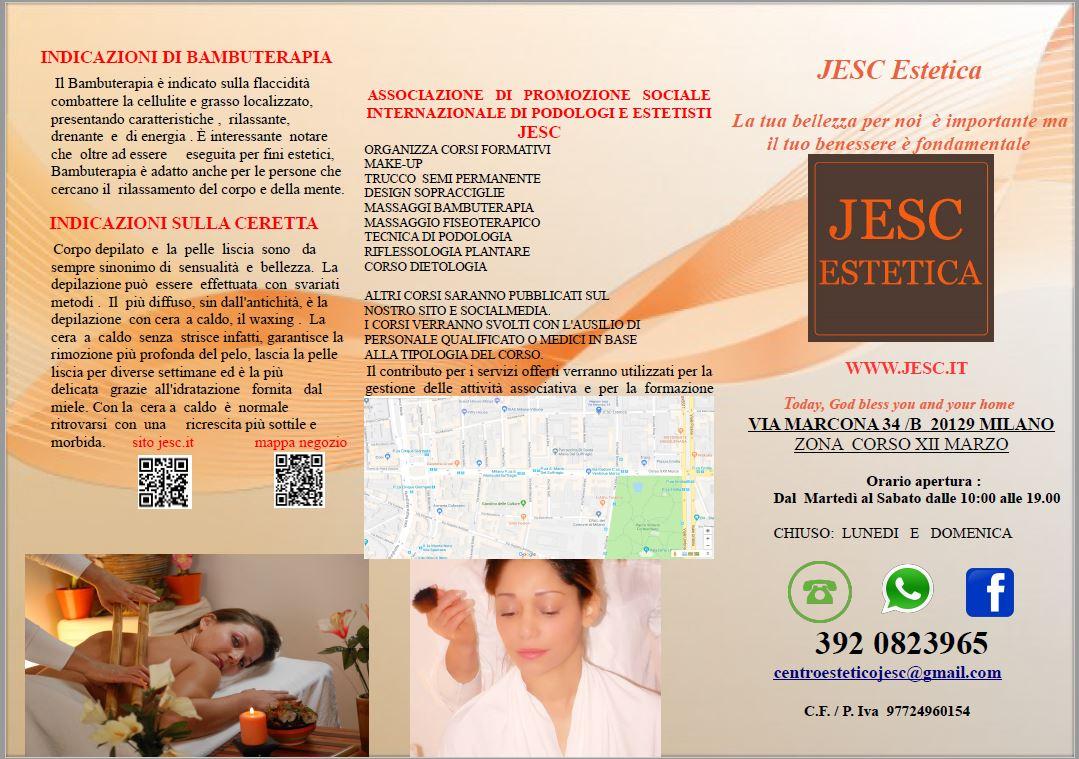 Listino Jesc Estetica